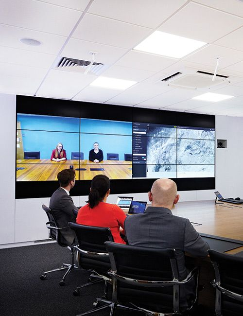 Collaboration room for Yorkshire Water